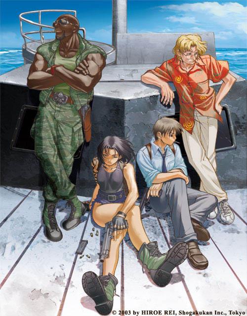 Black lagoon - manga Blacklagoonillust01
